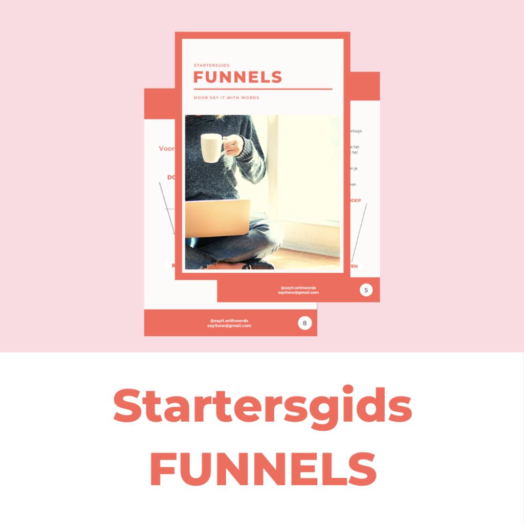 Startersgids FUNNELS