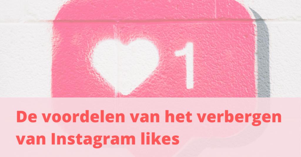 Instagram likes verbergen